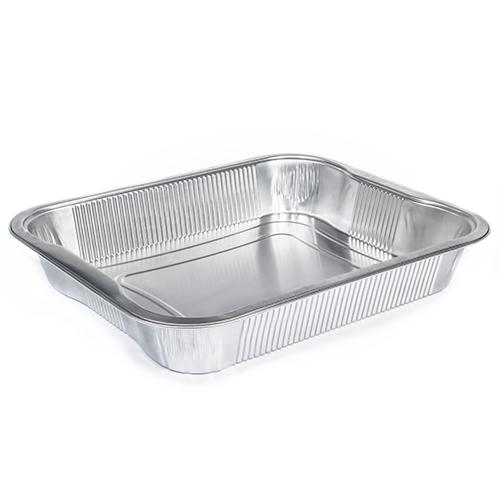 vaschette in alluminio nudo